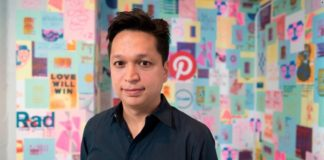 """Pinterest founder Ben Silbermann said the app, which allows users to """"pin"""" pictures from around the web onto personal """"boards,"""" says its primary goal is to inspire and ultimately get people offline. People can use Pinterest to gather recipes, help plan weddings or come up with ideas to redecorate their homes."""