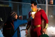 "What kid wouldn't want to be a superhero? That's the basic hook to ""Shazam!,"" certainly the most broadly comic entry to hit the DC Universe -- essentially rebooting ""Big,"" just with tights, a cape and that oft-repeated title."