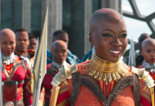 "Danai Gurira stars in the hit Marvel film ""Black Panther."" Marvel Studios reissued the official poster for ""Avengers: Endgame"" after a backlash over star Danai Gurira not receiving top billing."