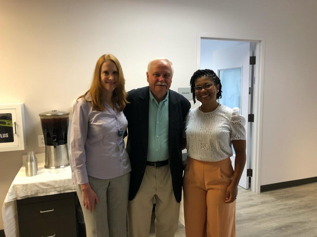 (l-r) Dr. Monica Davis, Former Representative Gray Moore, Dr. Taura Long