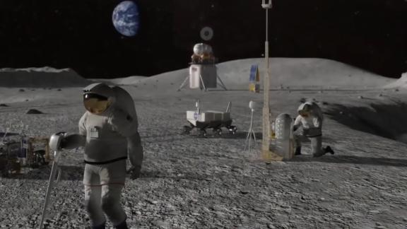 NASA announced its new mission to return to the moon and maintain a human presence there.