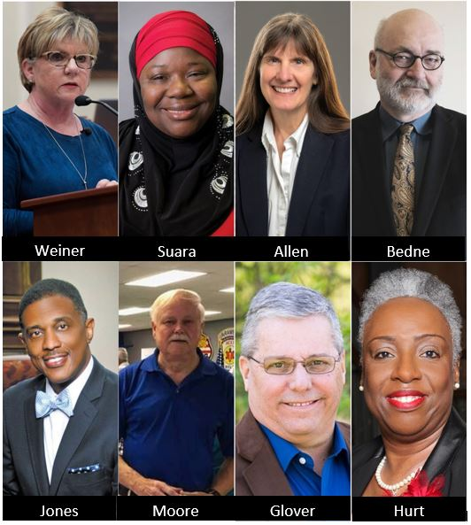 Council At-Large Candidates