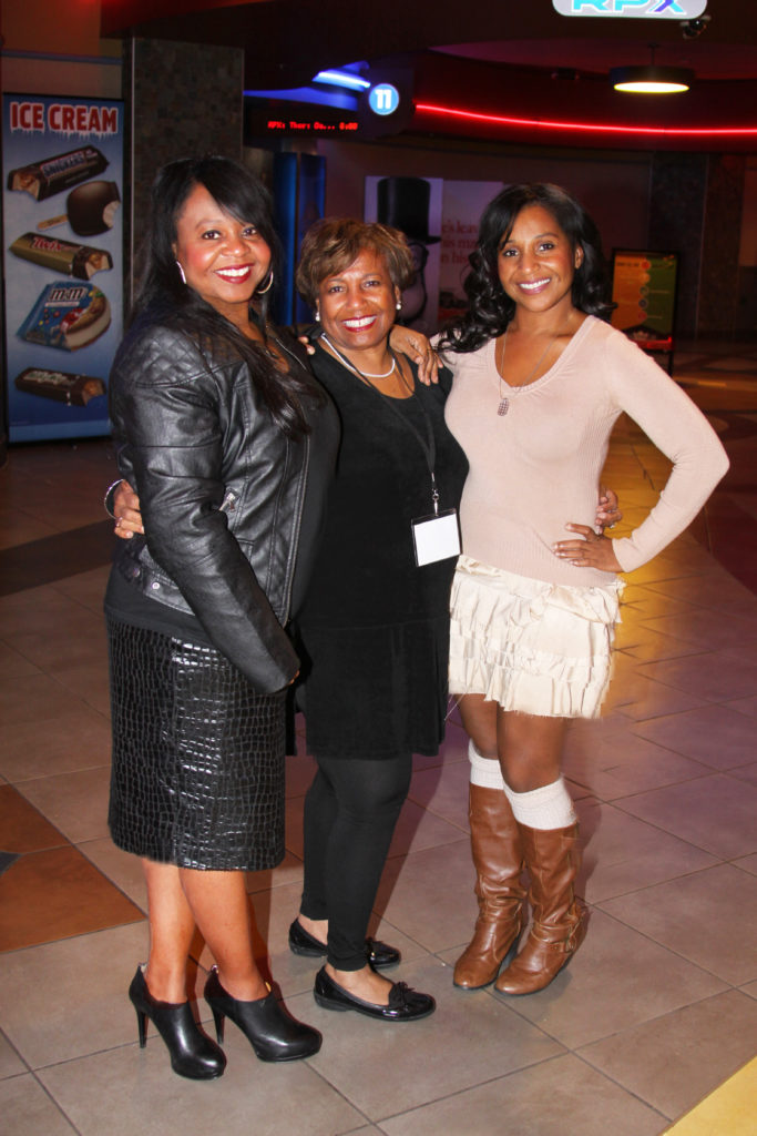 (l-r) Ingrid Brown, Hazel Joyner-Smith, Ivy Brown (Photo by: Charles Putnam)