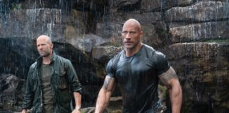 """The movie business and discussions of masculinity have evolved over the decades. But if a movie like """"Fast & Furious Presents: Hobbs & Shaw"""" is any indication, the buddy action comedy -- ripe with juvenile insults and taunts -- remains the Peter Pan of genres, one that refuses to grow up."""