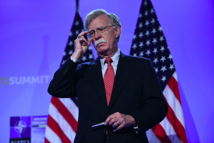 President Donald Trump said Tuesday that he has asked national security adviser John Bolton to resign, noting that he