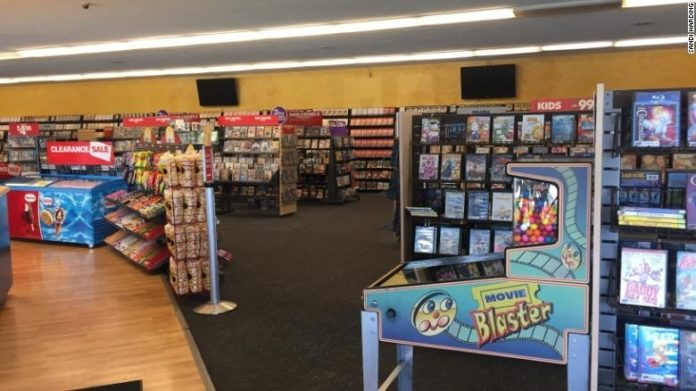This location is the last remaining Blockbuster in the US.