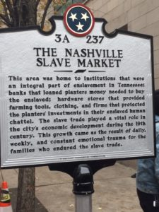 Black history walking tour story - Nashville Voice