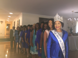 Luncheon at the Presidents House featuring past and present Miss TSU's (Photo by: By Nzingah Walker)