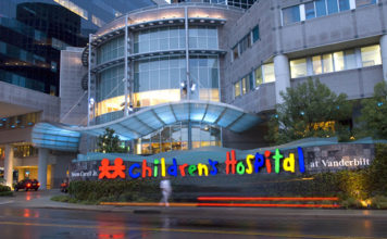 Vanderbilt Children's Hospital (Photo by: childrenshospitalvanderbilt.org)